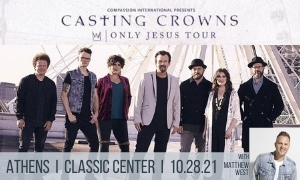 Casting Crowns Only Jesus Tour